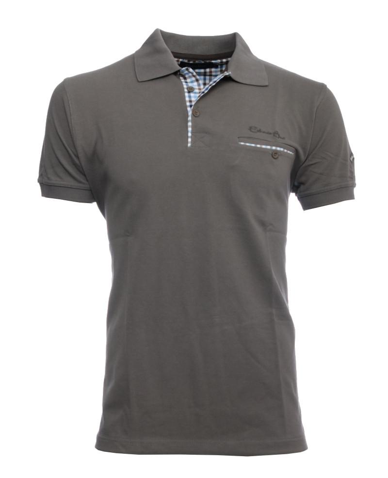 886e28378 Short sleeve polo-shirt, DARK GREY piqué with pocket 3XL - 4XL - Ethnic Short  sleeve polo-shirt, DARK GREY piqué with pocket 3XL - 4XL - Ethnic