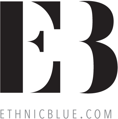 logo Ethnic Blue